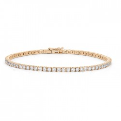 Classic Diamond Tennis Bracelet made in 14k Yellow Gold (4cts)