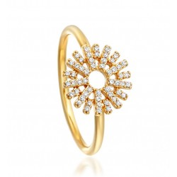 Diamond Ring made in 14k Yellow Gold (0.25cts)