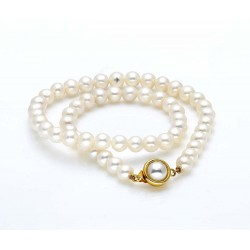 Freshwater Pearl Necklace (8-9mm Pearls)