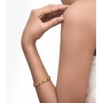 Hugs and Kisses Diamond and Gold Bracelet XOXO (2.52 cts)